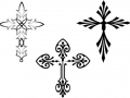 various-cross-tattoos