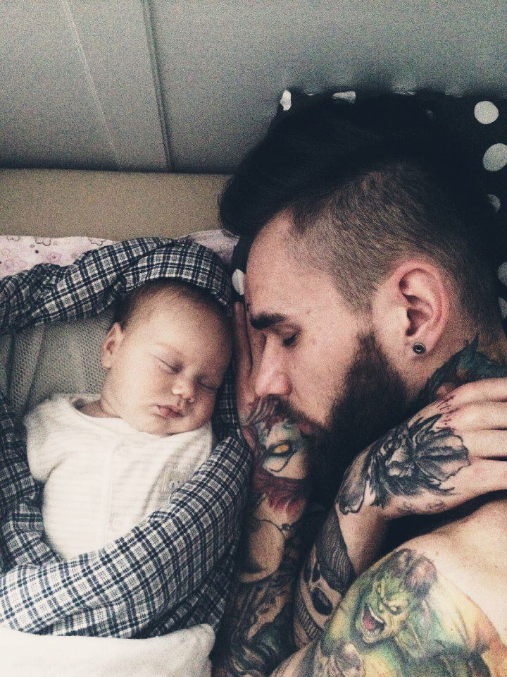 Find out various tattoo ideas and designs for Baby tattoos for dads
