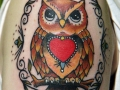 owl-with-heart-tattoo