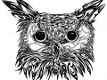 tribal-owl-tattoo-design