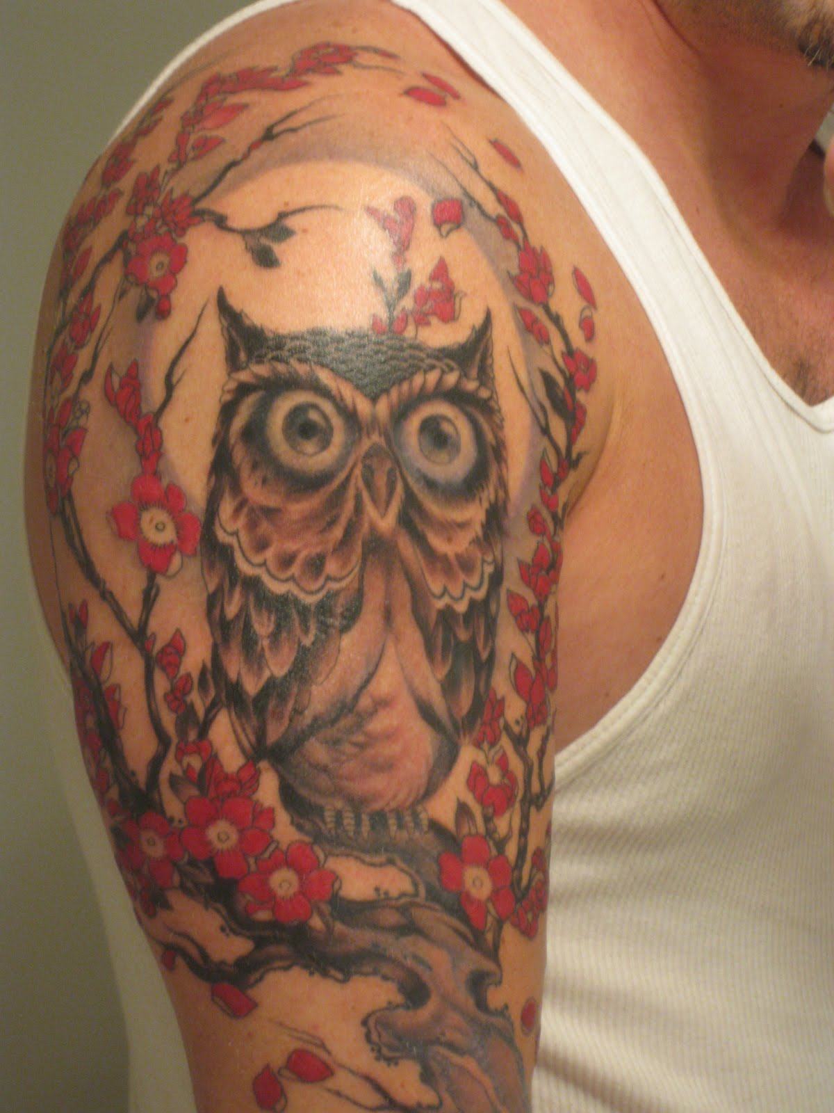 Best owl tattoo designs gallery for Forearm tattoo gallery