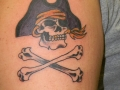 jolly-roger-skull-tattoo-on-left-shoulder