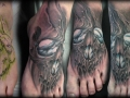 scary-skull-tattoo-on-foot