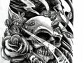 crow_n_skull_by_willemxsm