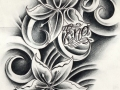 custom_flowers_tattoo_design_by_willemxsm