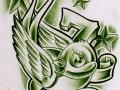green_lucky_7_birdy_by_willemxsm