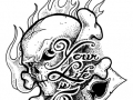 your_life_is_over_tattoo_flash_by_themacrat