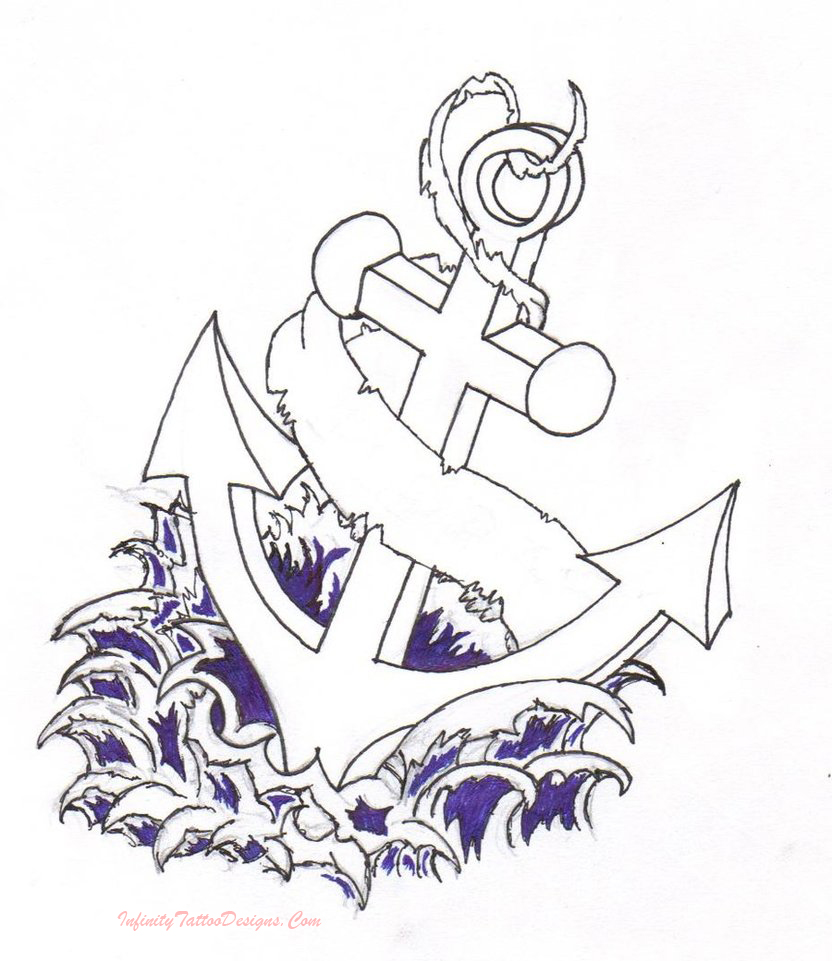 such a widely used symbol tattoo designs of anchor tattoos are really ...