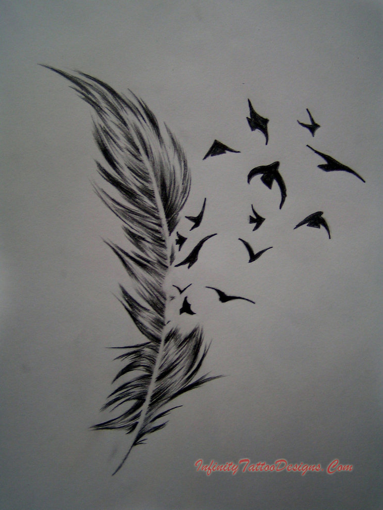 Feather Tattoo » Feather Tattoo 4