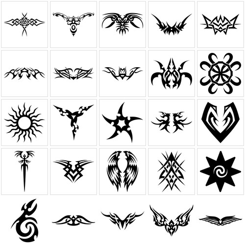 Small Tribal Tattoo Designs