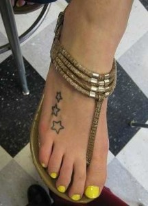 Star tattoos 4