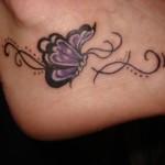 small butterfly tattoo idea