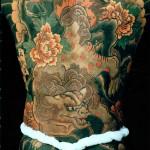 korean peony flower tattoos