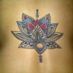 nice tattoo flowers idea