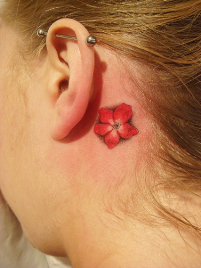 Small flower tattoos for Small flower designs