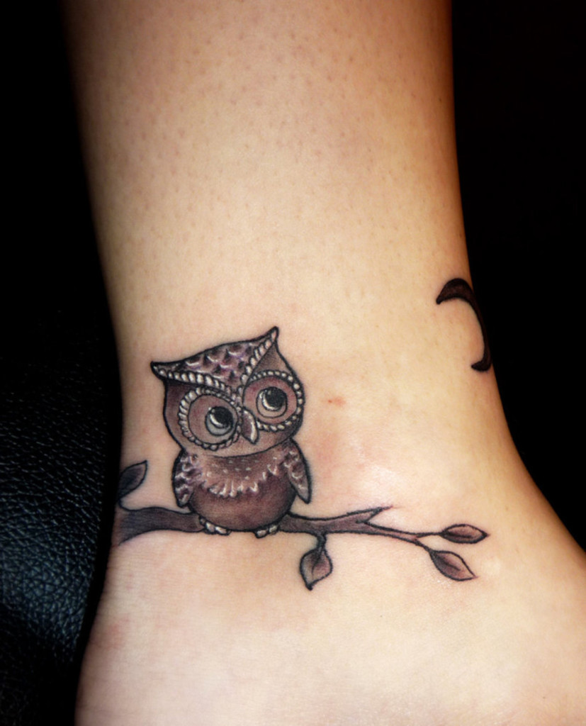 Cute Tattoo Ideas: Best Owl Tattoo Designs Gallery