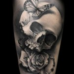 tattoo-butterfly-skull-tattoo-design